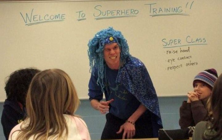Superhero Training Quest at Andersonville Elementary, Part 2