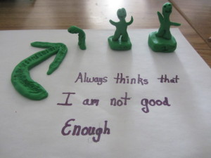 Always thinks that I am not good enough