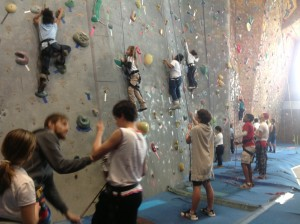 Experience - rock climbing - Groves 2013